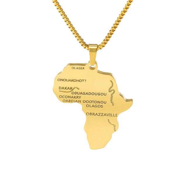 Africa Necklace - Her Fashion Muse