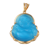 Golden Buddha Necklace