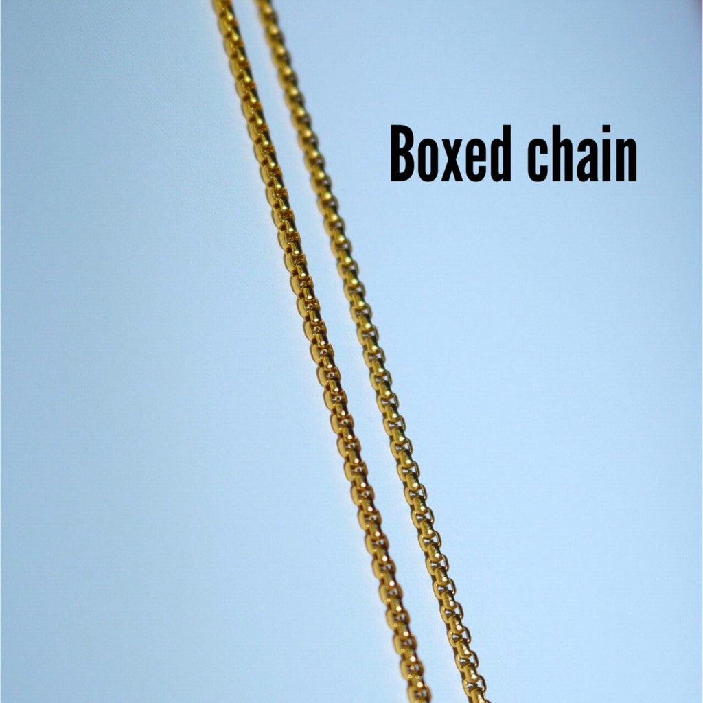 Iced Cross Necklace (Gold)