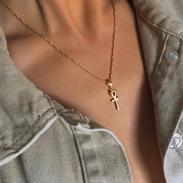 Mini Ankh Necklace