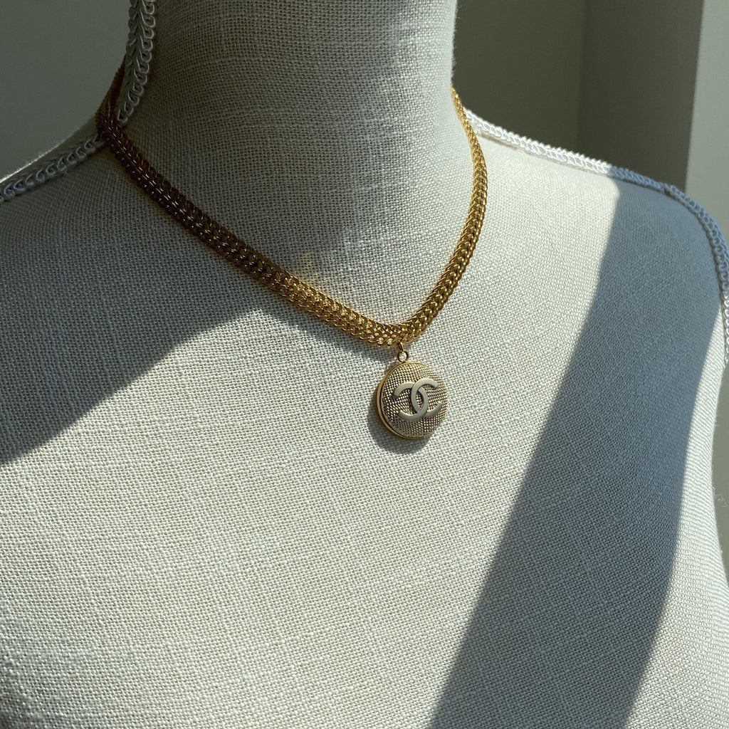 Golden Chanel Necklace