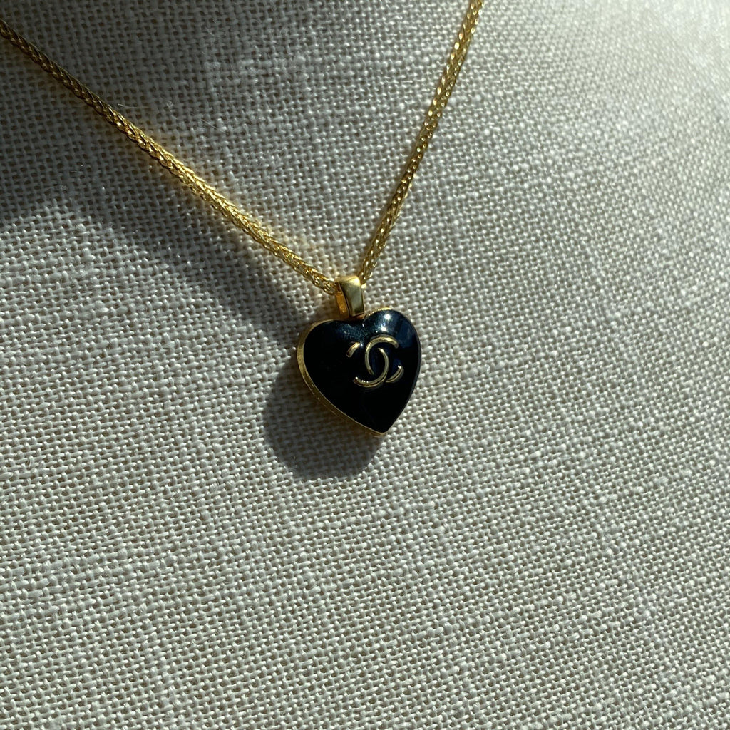 Chanel Heart Necklaces