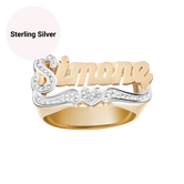 Sweetheart Custom Name Ring