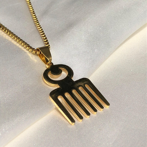 Duafe Adinkra Necklace
