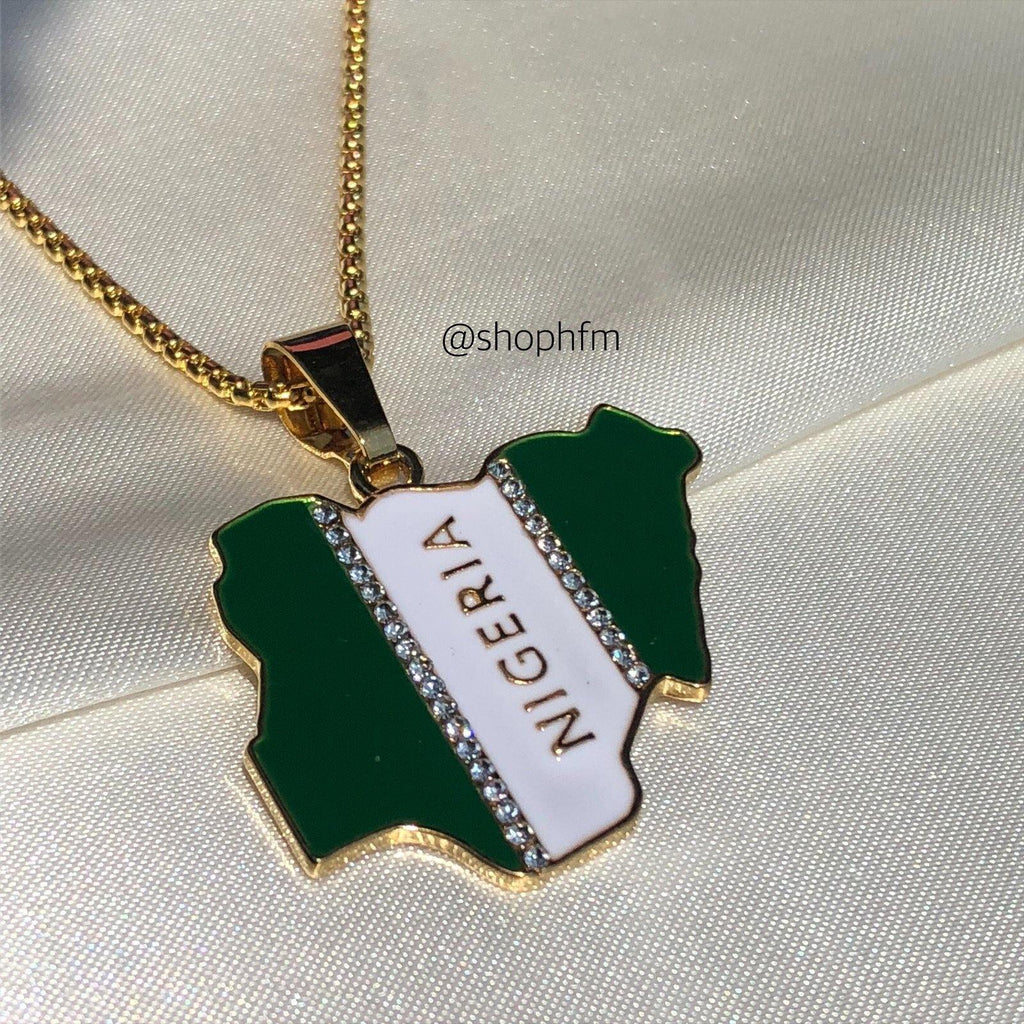Nigeria Flag Necklace 🇳🇬