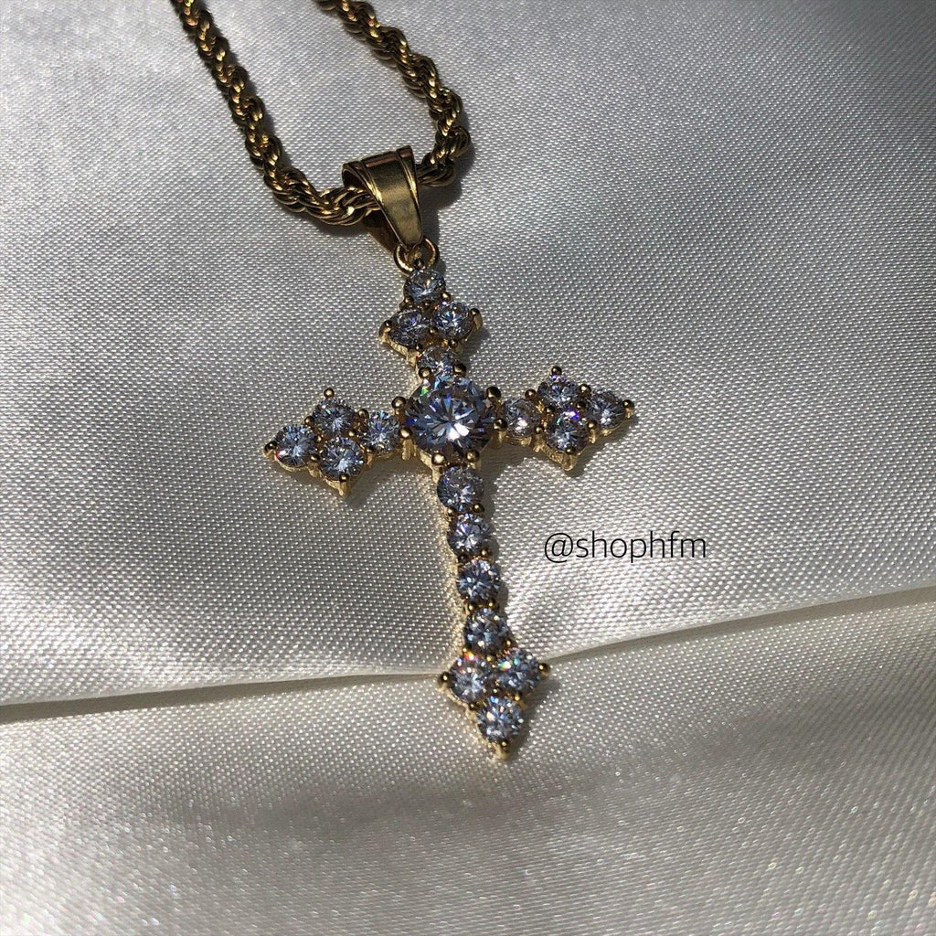 Cross II Necklace