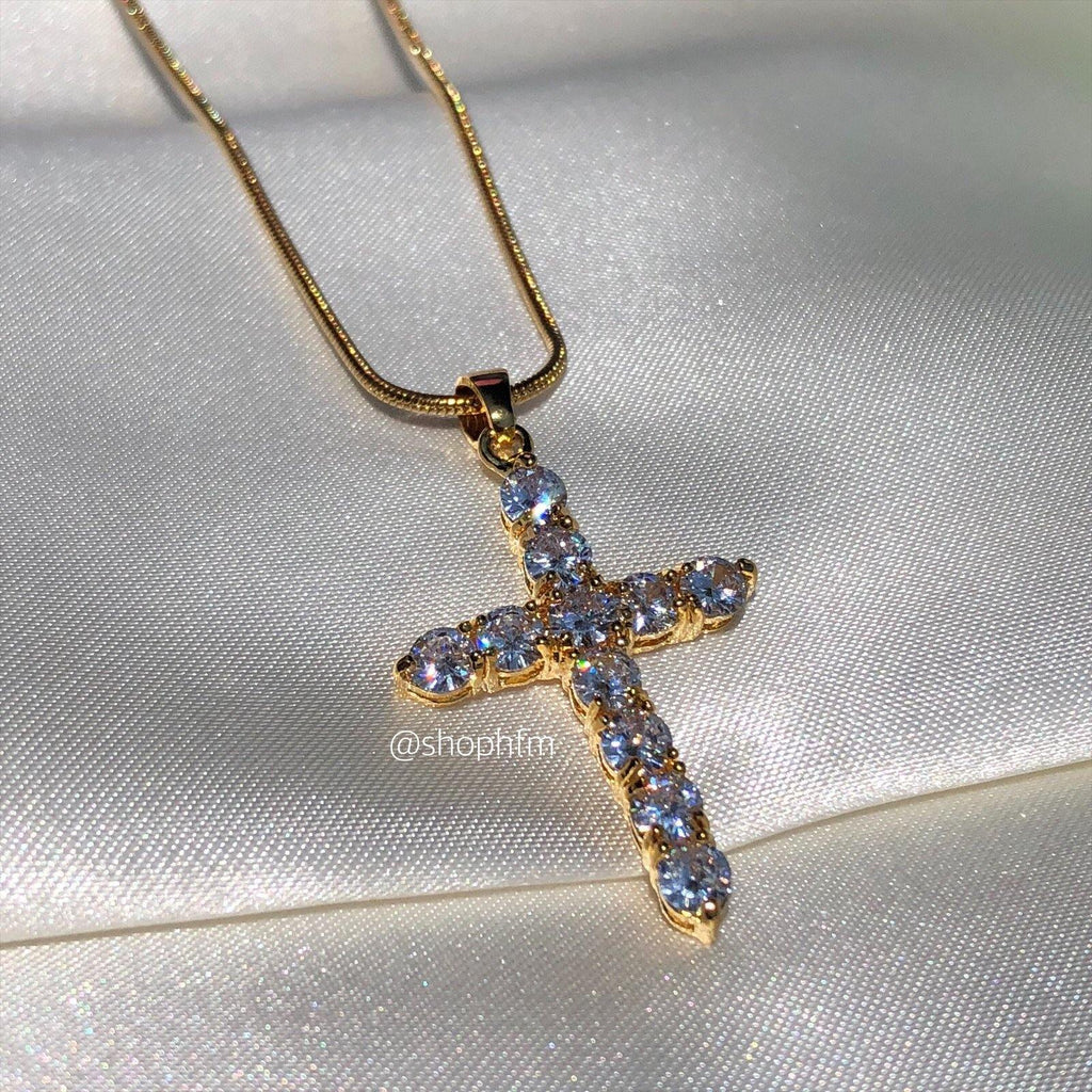 Cross necklace (small)
