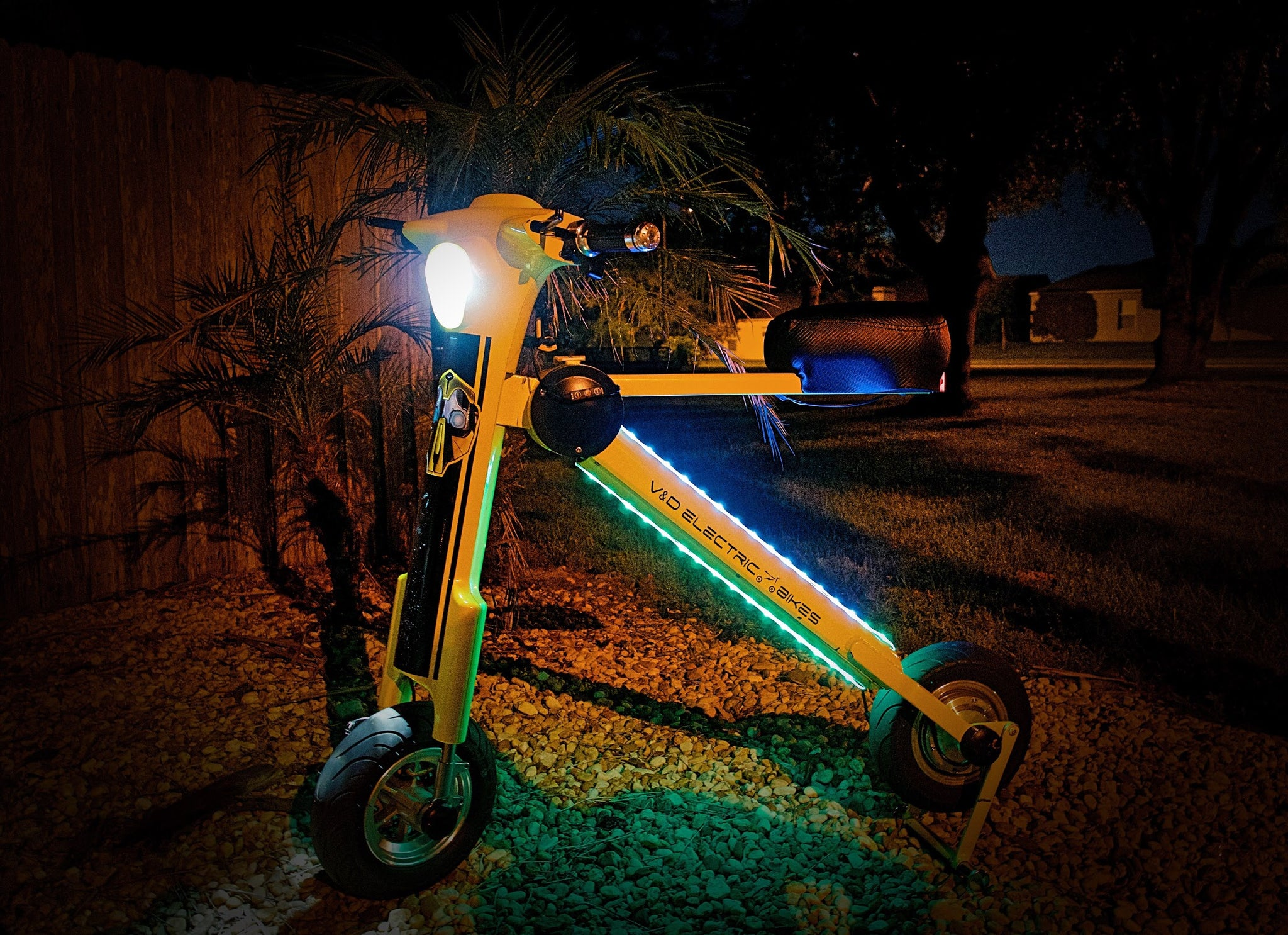 Go-Bike M1 Custom LED Lights/Add-on