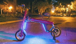Go-Bike M2 Custom LED Lights/Add-on