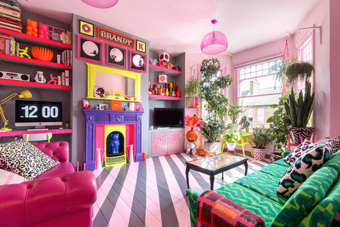 Barbeline, maximalist interiors, interiors blog, Ms Pink, Quirk and Rescue