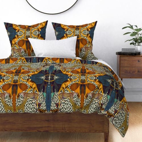 ANIMAL PRINT DUVET COVER