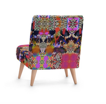Load image into Gallery viewer, OSTRICH PAINT OCCASIONAL CHAIR