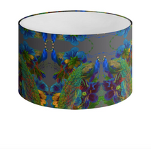 Load image into Gallery viewer, D'AMOUR PAINT DRUM LAMPSHADE-NOIR