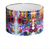 KINSHASA PAINT DRUM LAMPSHADE