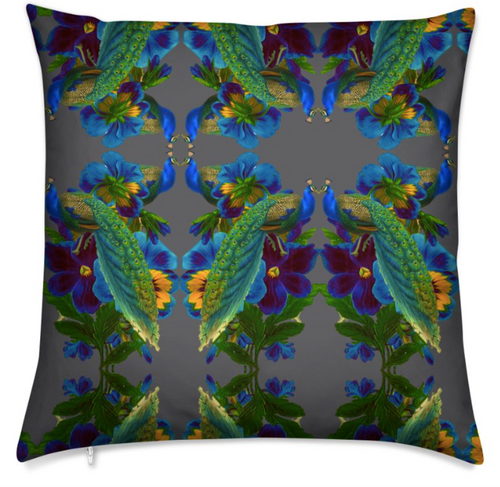 D'AMOUR MEDIUM CUSHION - NOIR