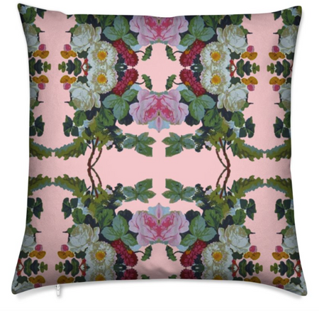 SUPPER SILK CUSHION-ROUGE