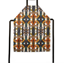 Load image into Gallery viewer, ANIMAL PRINT STRIPES APRON