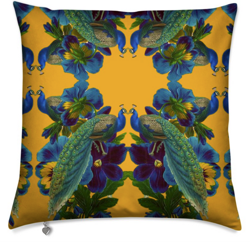 D'AMOUR MEDIUM CUSHION - JAUNE
