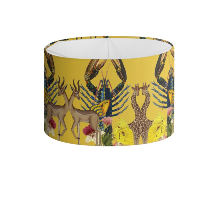 CERCLE DE ANIMAUX DRUM LAMPSHADE