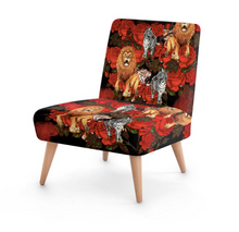 Load image into Gallery viewer, LA FORET PAINT OCCASIONAL CHAIR