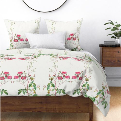 LA ROSE DUVET COVER
