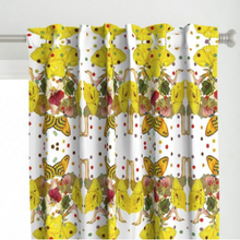 Load image into Gallery viewer, OSTRICH DOTS CHILDREN LINEN CURTAIN