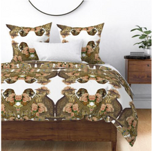 Load image into Gallery viewer, PEONIES TIGRE DUVET COVER