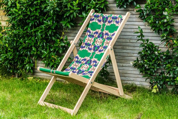 OSTRICH PEONY DECK CHAIR