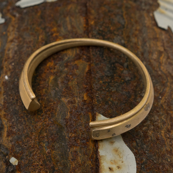 Bronze Worry Doll Bangle