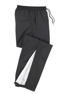 Adults - Ripstop Track Bottoms TP3160 (Black) Logo 4 & 5