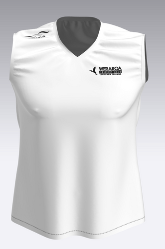 Mens / Womans - Weraroa CC Senior Club Sublimated Playing Vest + Surname Added