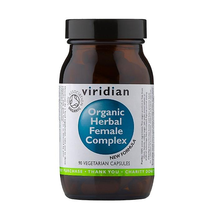 Organic Herbal Female Complex 90 caps Viridian