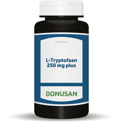 L-Tryptofaan 250 mg plus Bonusan