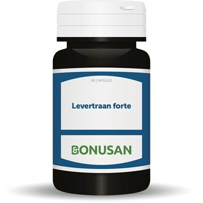 Levertraan forte Bonusan