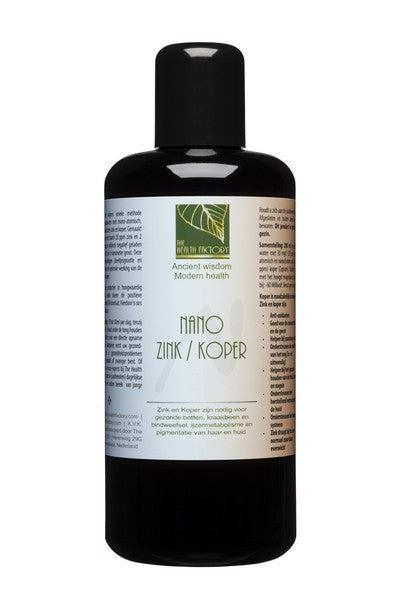 NANO ZINK/KOPER The Health Factory 200 ml