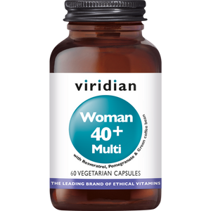 Viridian Woman 40+ multi 60 vega caps