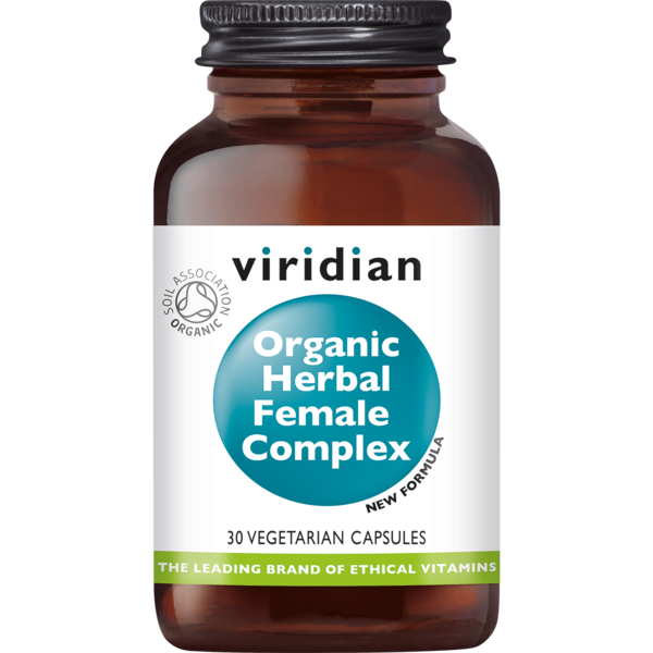 Viridian organic herbal female 30caps