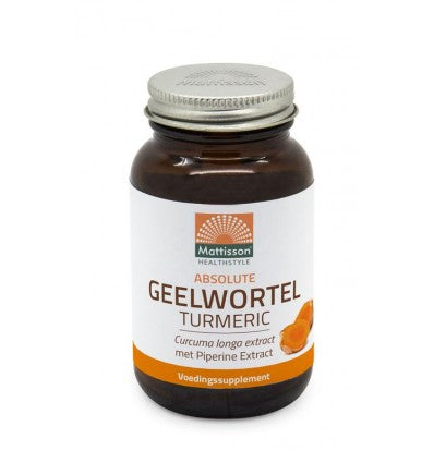 Mattisson Absolute geelwortel/turmeric 700 mg 60 tabletten