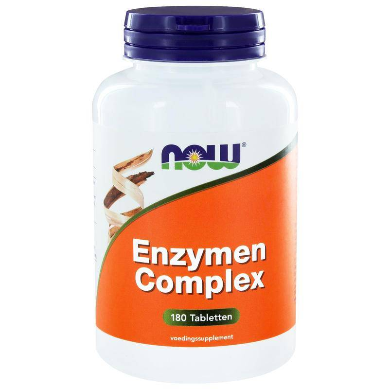 Now Enzymen Complex 180 tabletten