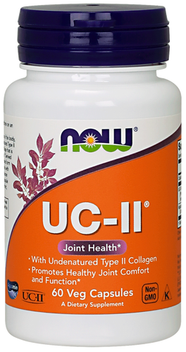 UC-II® Type II Collagen Veg Capsules NOW Foods