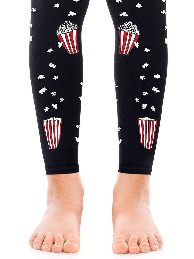 Movie Night Black Girls Footless Tights