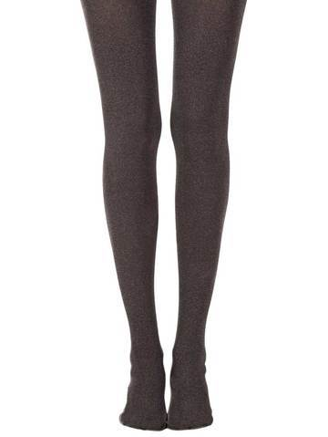 Solid Heather Brown Tights