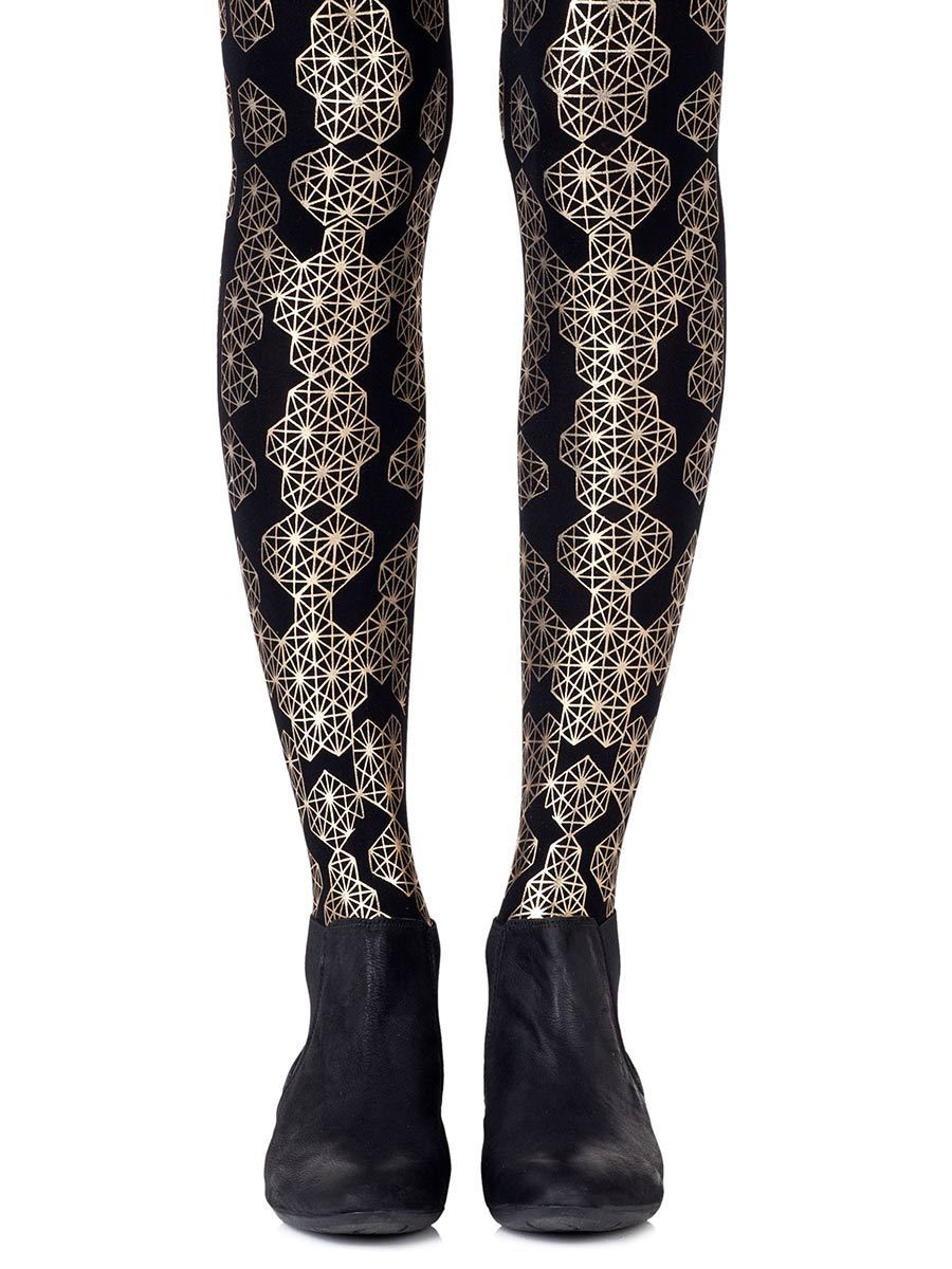 Queen Bee Gold Tights