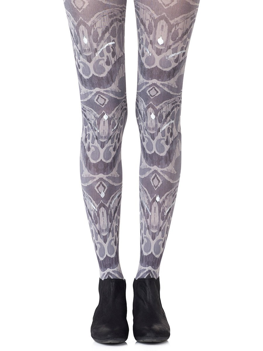 Silver Haze Grey Tights