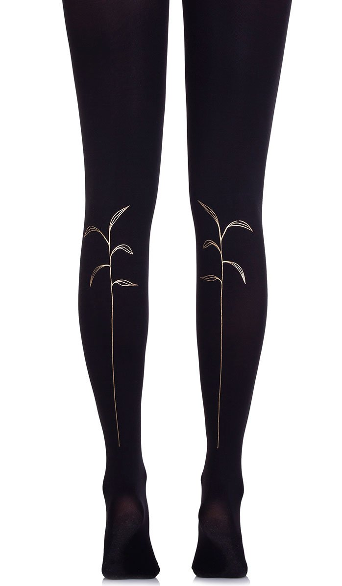 Stalking Black Tights