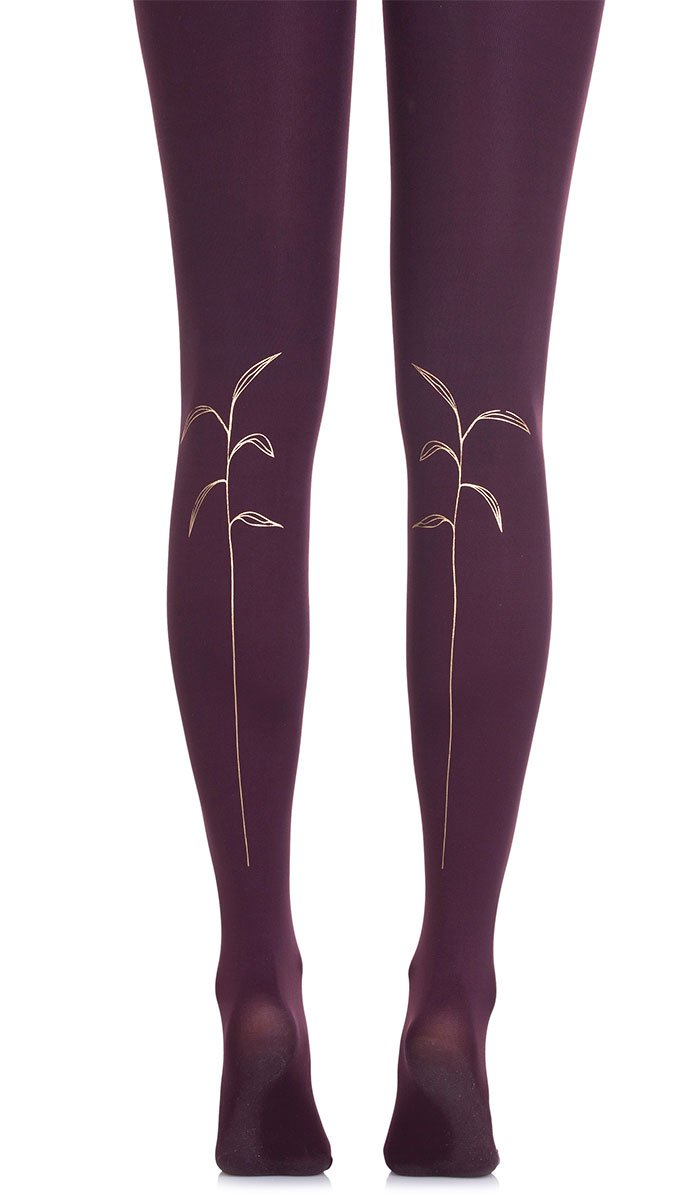 Stalking Purple Tights