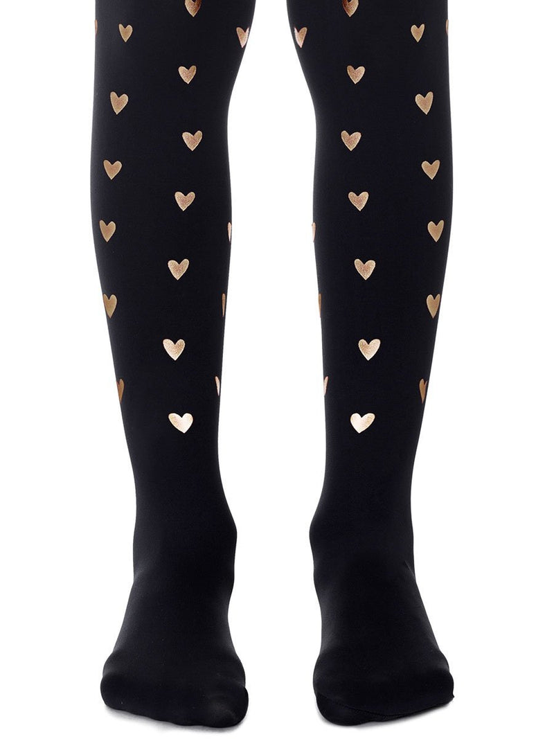 Be Still My Heart Black Girls Tights