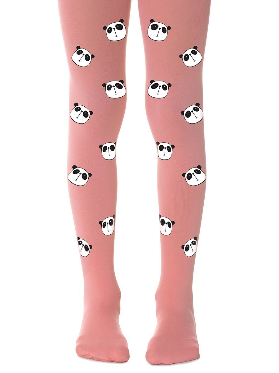 Bamboo Pink Girls Tights