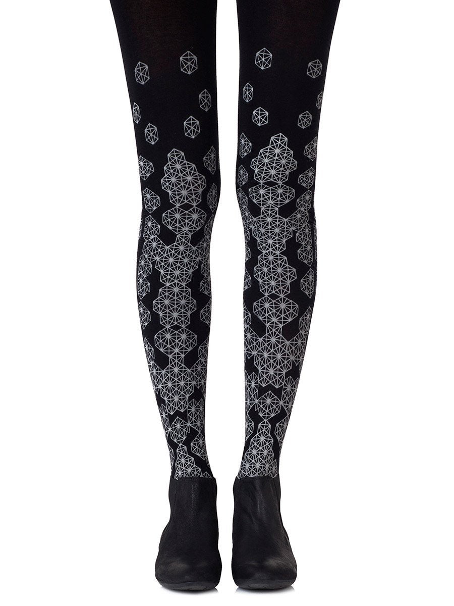 Queen Bee Grey Tights