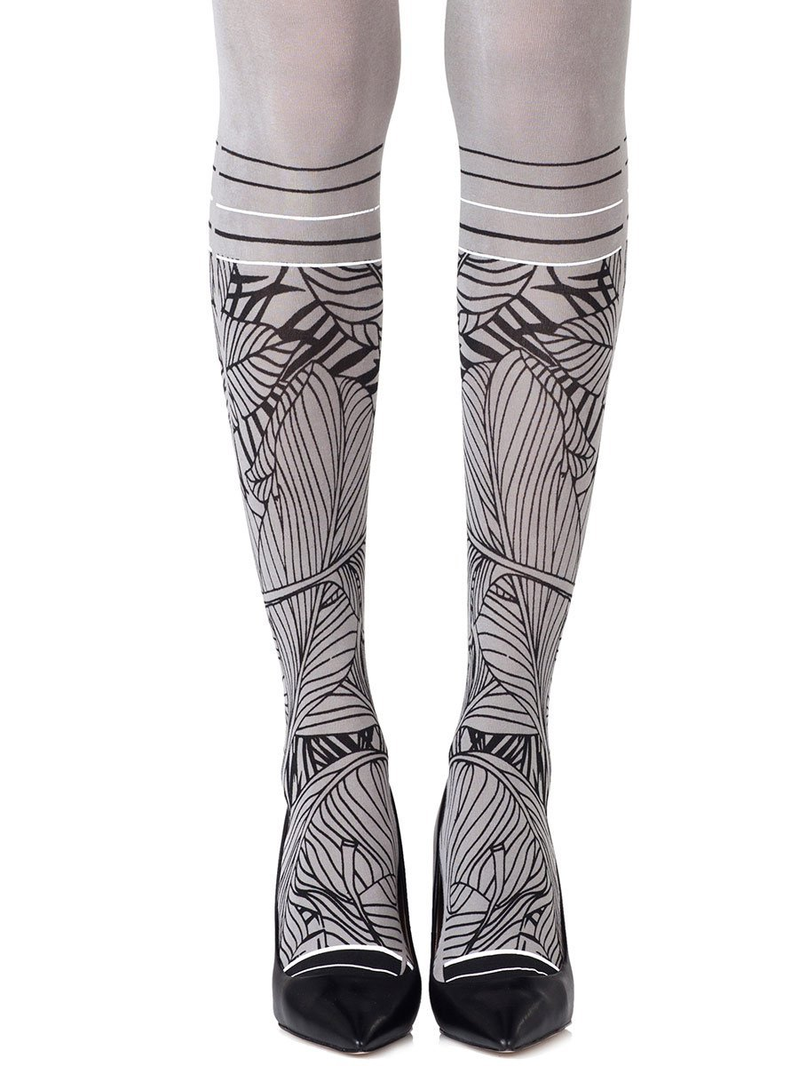 Waikiki Nights Grey Tights
